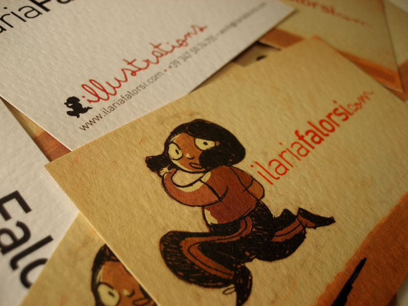 ilaria business card